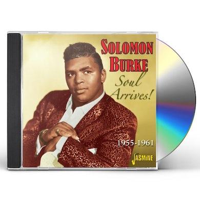 Solomon Burke SOUL ARRIVES 1955 - 1961 CD