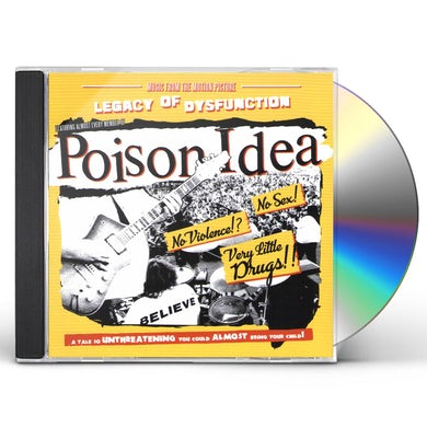 Poison Idea LEGACY OF DISFUNCTION CD