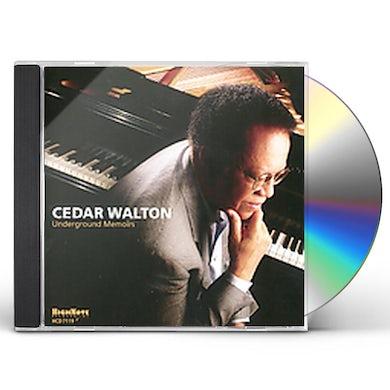 Cedar Walton UNDERGROUND MEMOIRS CD