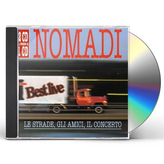 Nomadi LE STRADE, GLI AMICI, IL CONCERTO CD
