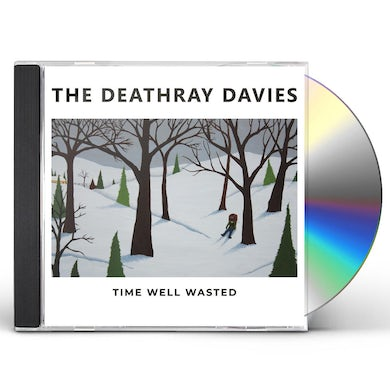 Deathray Davies TIME WELL WASTED CD
