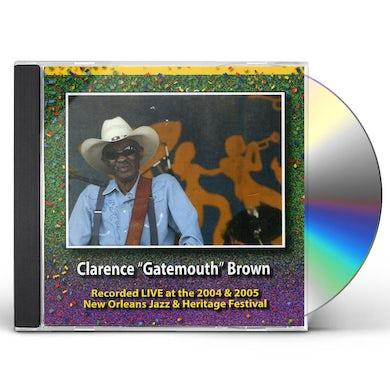 Clarence Gatemouth Brown JAZZ FEST 2004 & 2005 CD