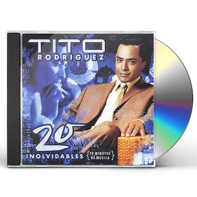 Tito Rodriguez 20 INOLVIDABLES CD