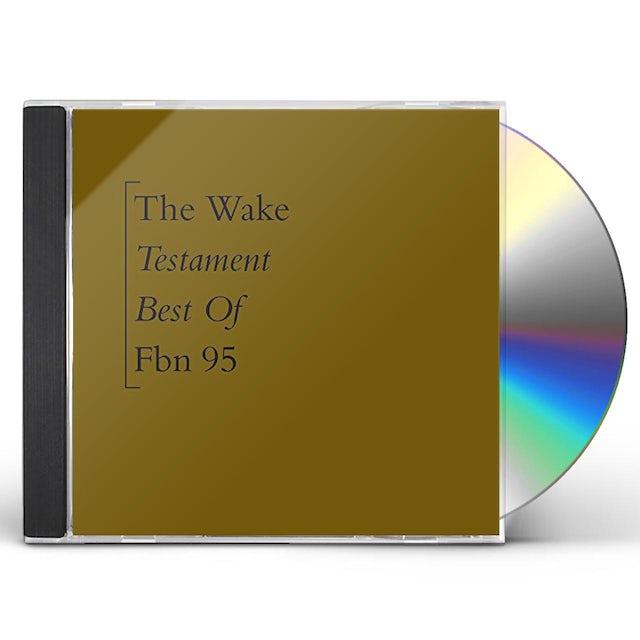 Wake TESTAMENT: BEST OF CD