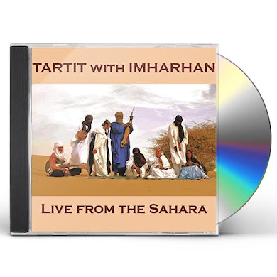 Tartit LIVE FROM THE SAHARA CD