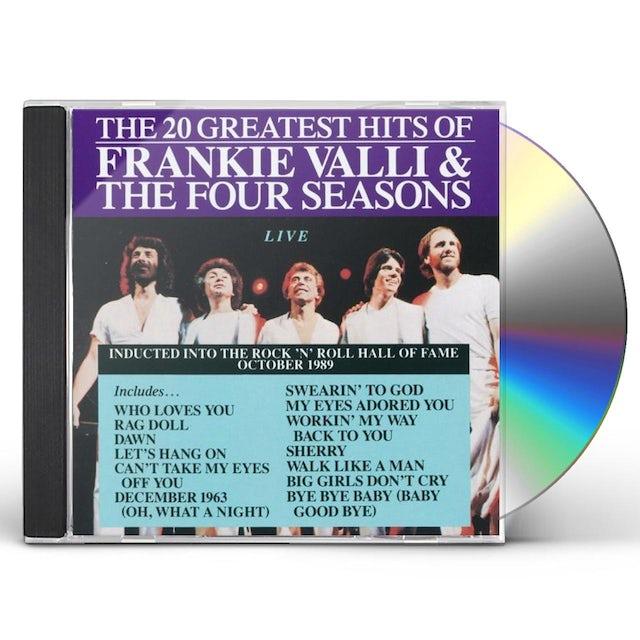 Four Seasons 20 GREATEST HITS LIVE CD