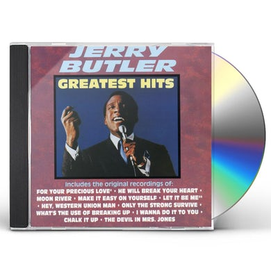 Jerry Butler GREATEST HITS CD