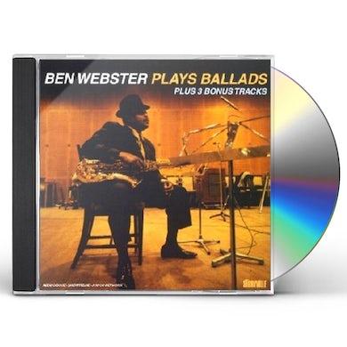 Ben Webster PLAYS BALLADS CD