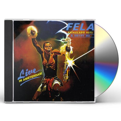 Fela Kuti LIVE IN AMSTERDAM CD