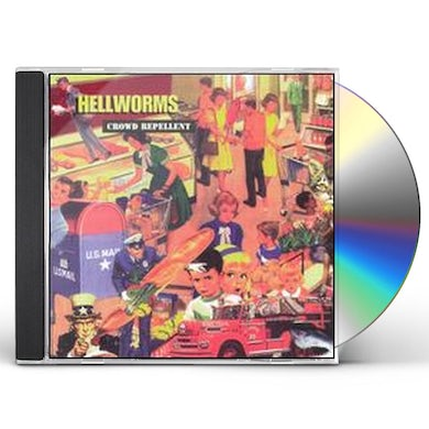 Hellworms CROWD REPELLENT CD