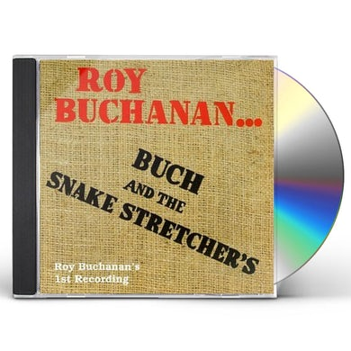 Roy Buchanan BUCK & THE SNAKE STRETCHERS-ONE OF THREE LIVE REGG CD