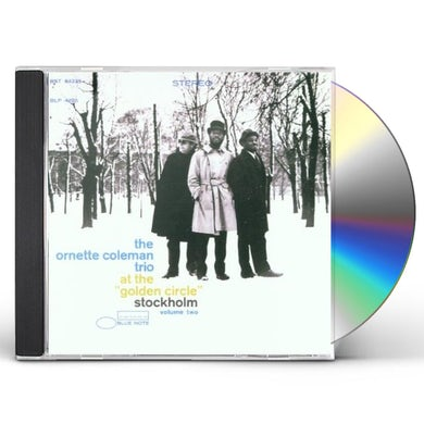 Ornette Coleman AT THE GOLDEN CIRCLE 2 CD