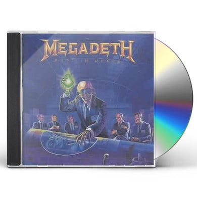 Megadeth Rust In Peace (Remastered) CD