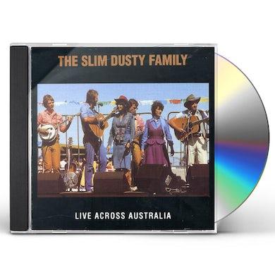 Slim Dusty LIVE ACROSS AUSTRALIA CD