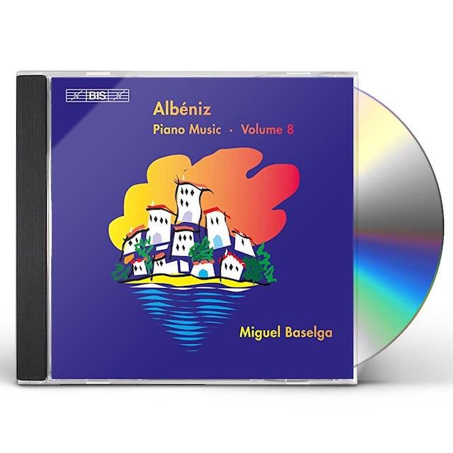 Albeniz PIANO MUSIC 8 CD