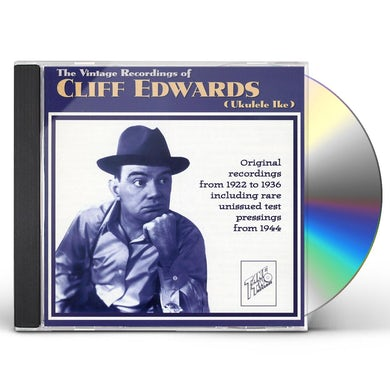 Cliff Edwards VINTAGE RECORDINGS OF UKULELE IKE 22-24 CD