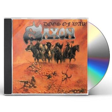 Saxon DOGS OF WAR CD