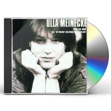 Ulla Meinecke VIEL ZU VIEL CD