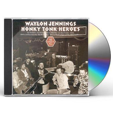 Waylon Jennings HONKY TONK HEROES CD