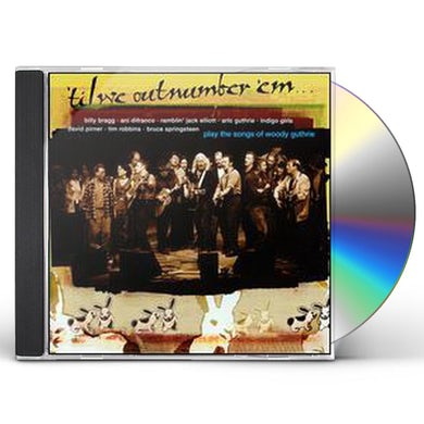 Woody Guthrie TIL WE OUT NUMBER EM CD