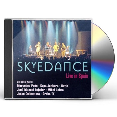 Skyedance LIVE IN SPAIN CD