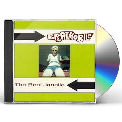 BRATMOBILE REAL JANELLE CD