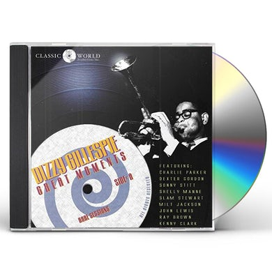 Dizzy Gillespie GREAT MOMENTS CD