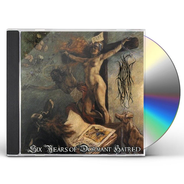 Ayat SIX YEARS OF DORMANT HATRED CD