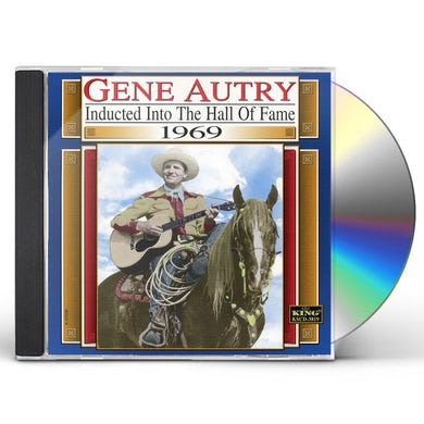 Gene Autry COUNTRY MUSIC HALL OF FAME 1969 CD
