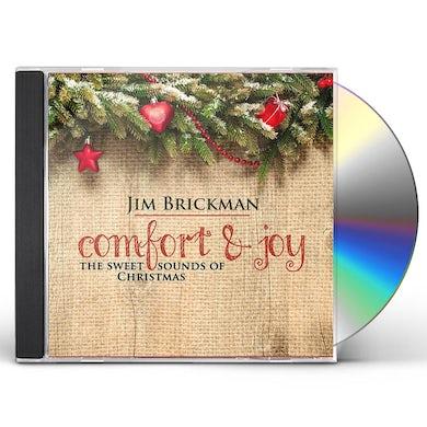 Jim Brickman COMFORT & JOY: THE SWEET SOUNDS OF CHRISTMAS CD