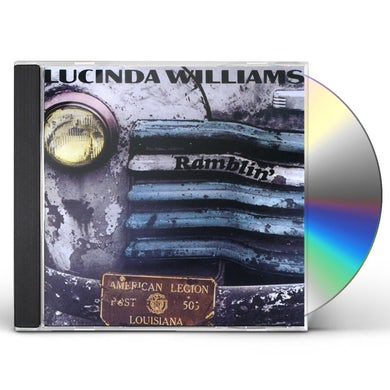 Lucinda Williams RAMBLIN' CD