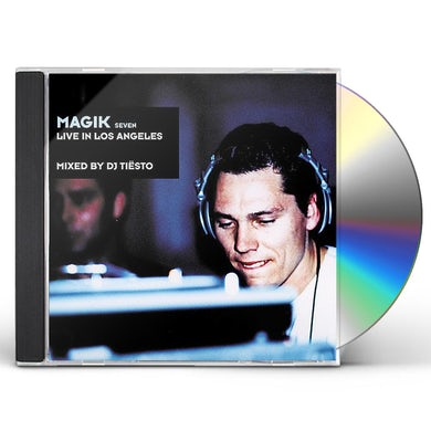 Dj Tiesto MAGIK 7: LIVE IN LOS ANGELES CD