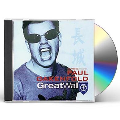 Paul Oakenfold GREAT WALL CD