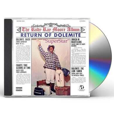 Rudy Ray Moore RETURN OF DOLEMITE CD