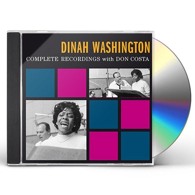 Dinah Washington COMPLETE RECORDINGS WITH DON COSTA CD