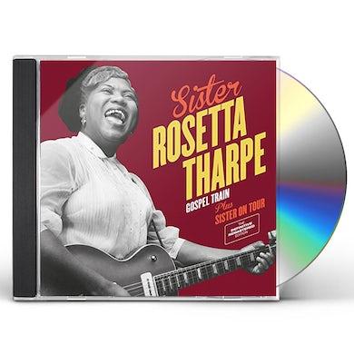 Sister Rosetta Tharpe GOSPEL TRAIN + SISTER ON TOUR CD