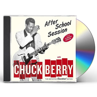 Chuck Berry AFTERSCHOOL SESSION 10 BONUS TRACKS CD