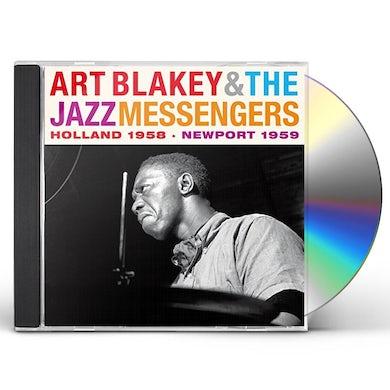 Art Blakey / Jazz Messengers HOLLAND 1958 & NEWPORT 1959 CD
