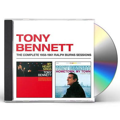 Tony Bennett MY HEART SINGS + HOMETOWN MY TOWN CD