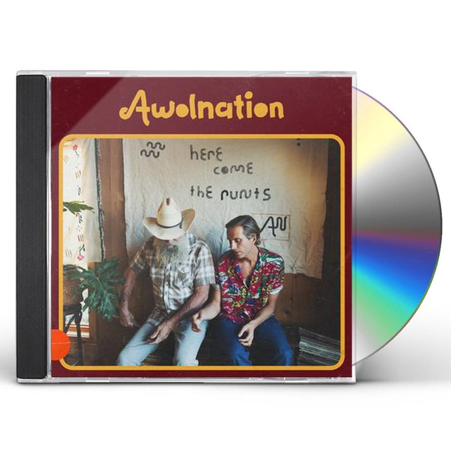 Awolnation HERE COME THE RUNTS CD