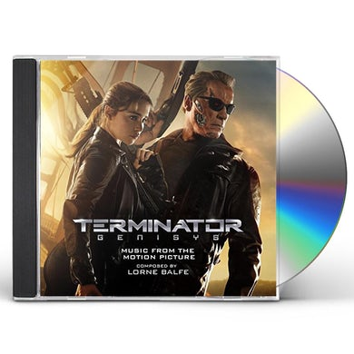 Lorne Balfe TERMINATOR GENISYS - MUSIC FROM THE MOTION PICTURE CD