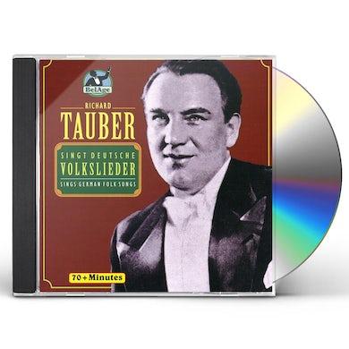 Richard Tauber DEUTSCHE VOLKSLIEDER CD