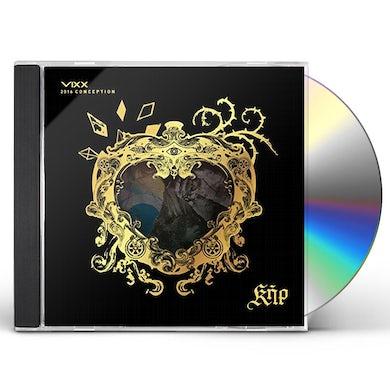 VIXX 2016 CONCEPTION KER: LIMITED EDITION CD
