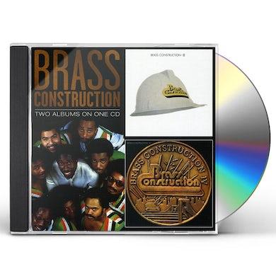 BRASS CONSTRUCTION III / BRASS CONSTRUCTION IV CD