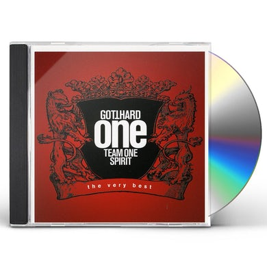 Gotthard ONE TEAM ONE SPIRIT CD