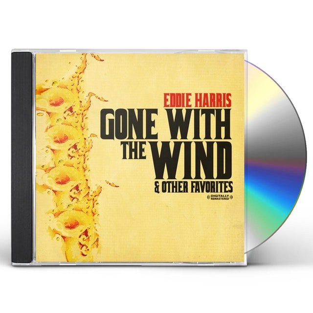 Eddie Harris GONE WITH THE WIND & OTHER FAVORITES CD