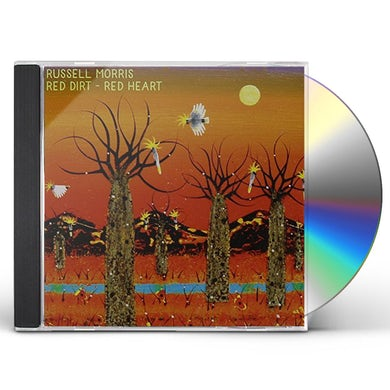 Russell Morris RED DIRT RED HEART CD
