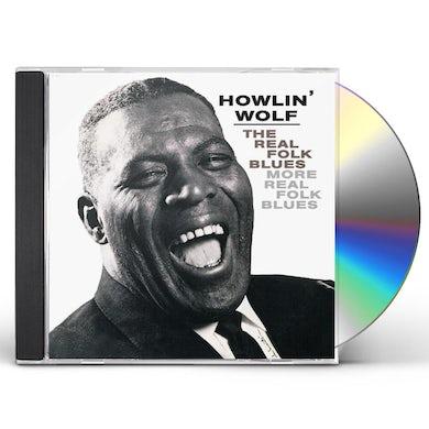 Howlin' Wolf REAL FOLK BLUES / MORE REAL FOLK BLUES CD