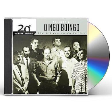 Oingo Boingo 20TH CENTURY MASTERS: MILLENNIUM COLLECTION CD