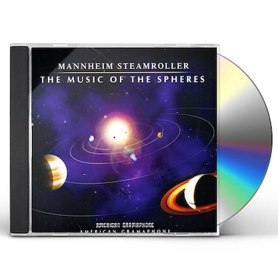 Mannheim Steamroller MUSIC OF THE SPHERES CD